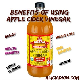 Benefits of using Apple Cider Vinegar
